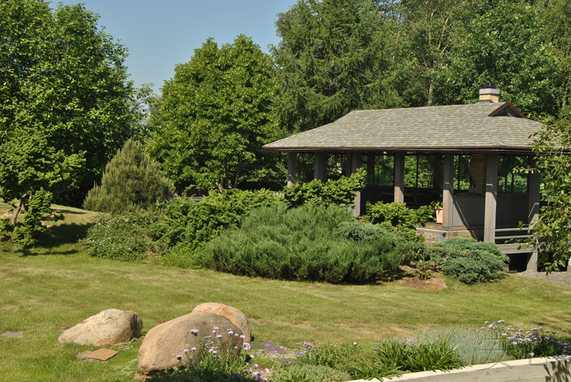 Pavilion (summer-house type)