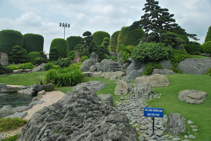 The Japanese Garden in Ho Chi Minh City