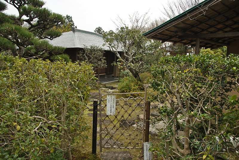 Garden gate, Japan (Kairakuen)